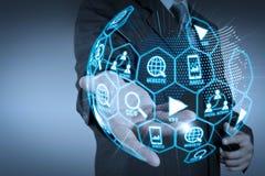 Media de vente de Digital (annonce de site Web, email, réseau social, SEO, images stock