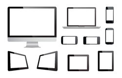 Media Devices Technology Vector Royalty Free Stock Photography