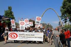 Media Employees Royalty Free Stock Photo