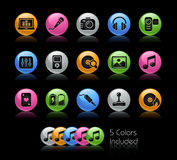 Media & Entertainment // Gelcolor series Royalty Free Stock Images