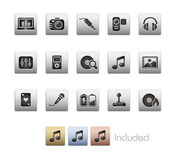 Media & Entertainment // Metallic Series Stock Images