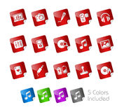 Media & Entertainment // Stickers Stock Images