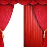 Media etapa abierta del teatro Fotografía de archivo