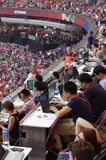 Media at the 2015 FIFA Women's World Cup Stock Photos