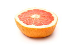 Media fruta de la uva Imagenes de archivo