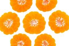 Media fruta una cáscara de naranja. Fotografía de archivo libre de regalías