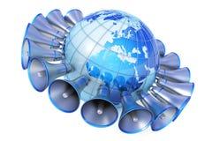 Media globali Fotografie Stock