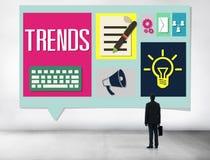 Media Hot Trendy Latest Modern Concept Royalty Free Stock Photos