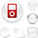 Media  icon. Stock Photos