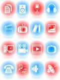 Media icons Royalty Free Stock Photo