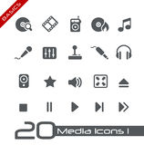 Media Icons // Basics Stock Images