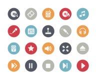 Media Icons // Classics Stock Image