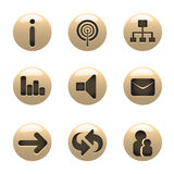 Media icons vector Stock Photography