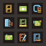 Media Icons - Video Royalty Free Stock Images
