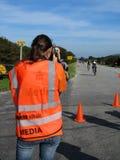 Media at ironman Royalty Free Stock Photos