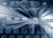 Media keyboard Stock Images