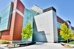 Media and Learning Center in De Anza College, Cupe Royalty Free Stock Image