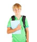 Media longitud del estudiante adolescente Foto de archivo