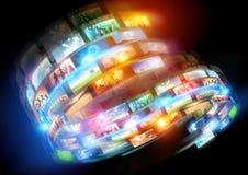 Media Loops Royalty Free Stock Image