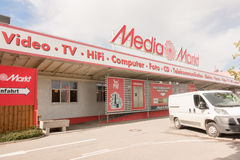 Media Markt Image stock