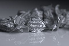 Media Markt candies, isolated Royalty Free Stock Photos