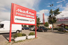 Media Markt service and financing Royalty Free Stock Photos