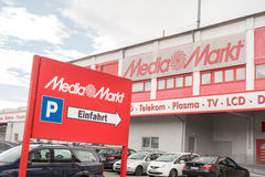 Media Markt signs Royalty Free Stock Photography