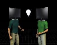Media Mind Communication Royalty Free Stock Photo