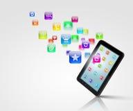 Media moderni di tecnologia Immagini Stock