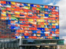 Media Museum in Hilversum, Holland Stock Image