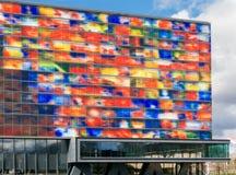 Media Museum in Hilversum, Holland Stock Image