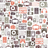Media pattern Stock Image