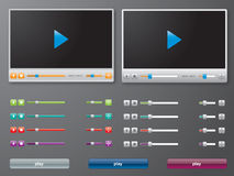 Media player in royalty free stock images