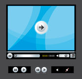 Media player Royalty Free Stock Photos