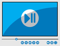 Media Player Photographie stock