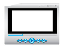 Media player background royalty free stock photography