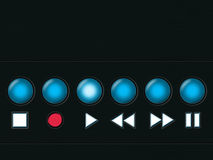 Media player buttons 2 Royalty Free Stock Photos