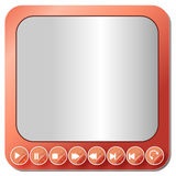 Media player buttons collection - Illustration Royalty Free Stock Photography