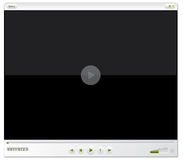 Media player design Stock Images