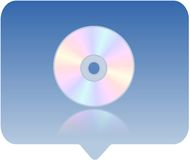 Media player icon Stock Image