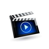Media player icon. Royalty Free Stock Photography