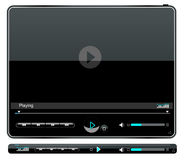 Media player interface Stock Photography