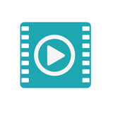 Media player portable isolated icon Stock Photography