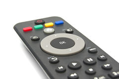 Media player remote control royalty free stock photos