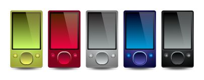 Media Players #1 Royalty Free Stock Image