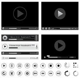 Media players Stock Images
