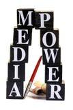 Media power Royalty Free Stock Image