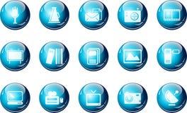 Media and Publishing icons Stock Photos