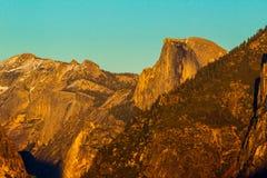 Media puesta del sol de la bóveda Fotos de archivo libres de regalías