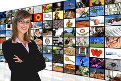 Media-Raum Lizenzfreies Stockfoto